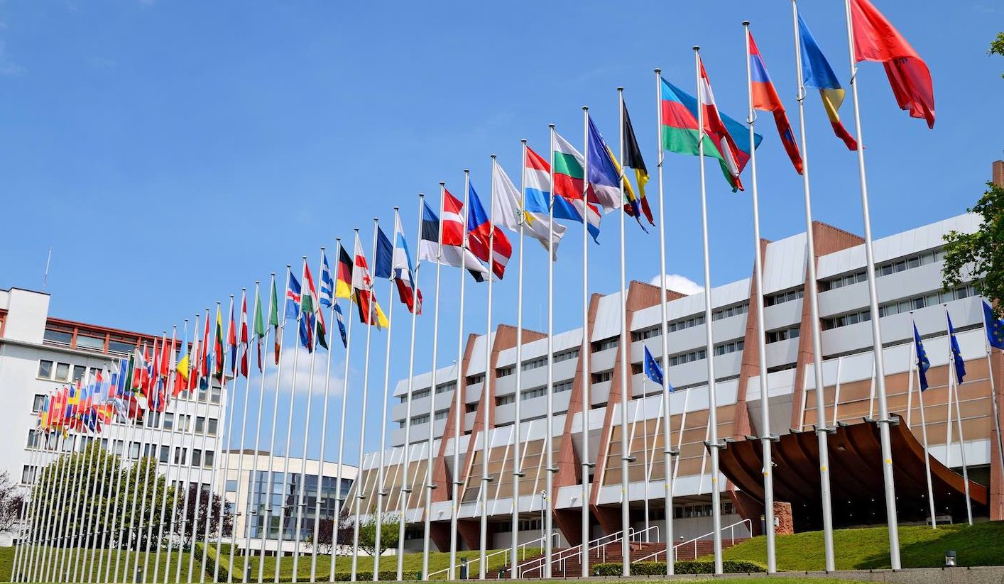 Gebäude der Parlamentarischen Versammlung des Europarates in Straßburg